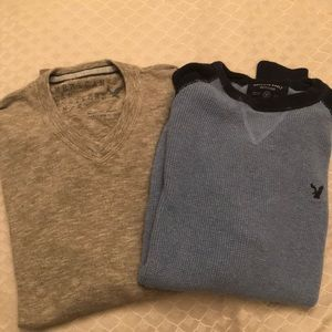 Two American Eagle sweaters